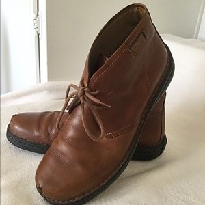 CLARKS Brown Men's low boots size 12